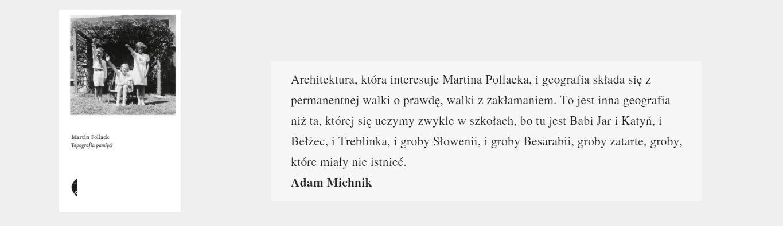 Topografia pamięci | Martin Pollack