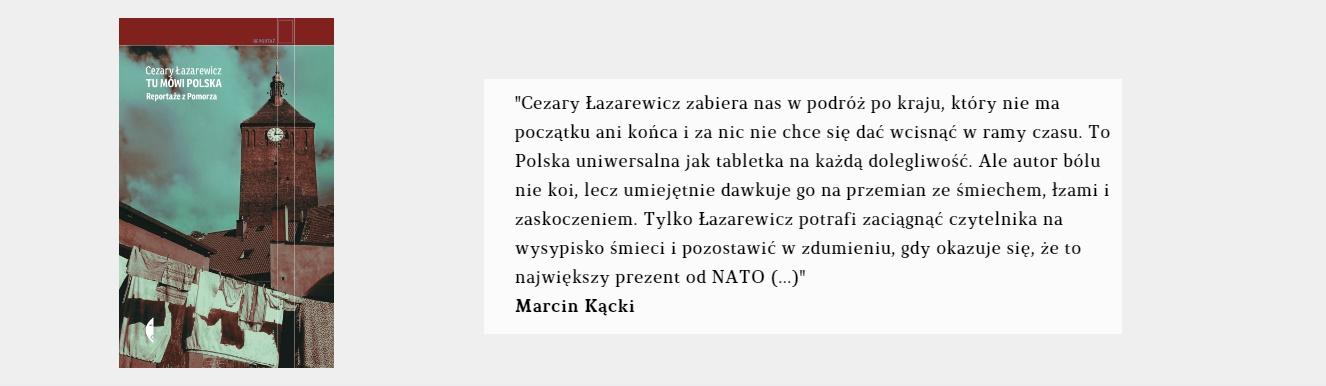 Tu mówi Polska | Cezary Łazarewicz