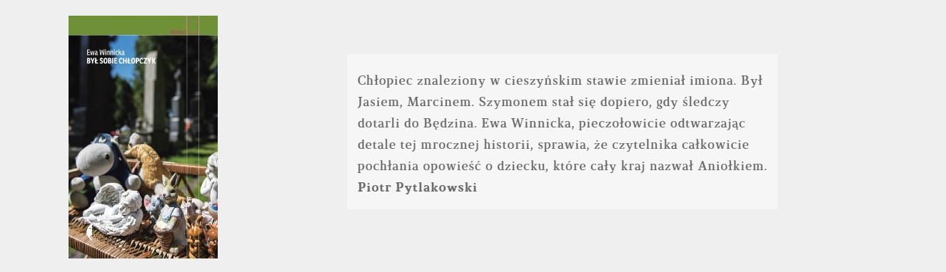 Był sobie chłopczyk | Ewa Winnicka