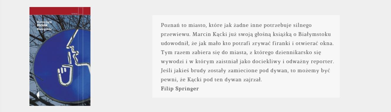 Poznań | Marcin Kącki