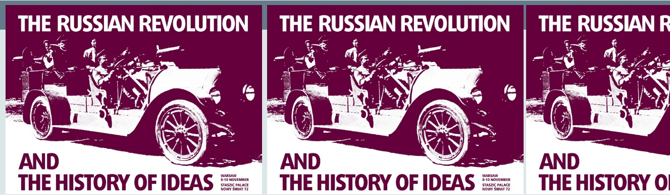 The Russian Revolution and the History of Ideas