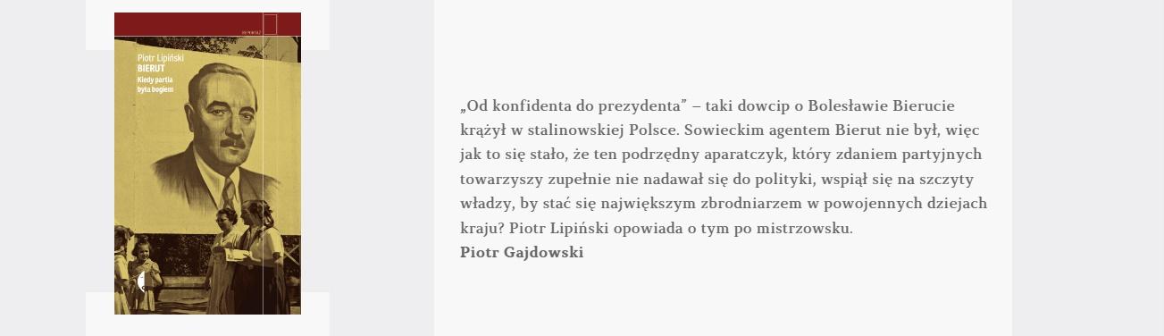 Bierut | Piotr Lipiński