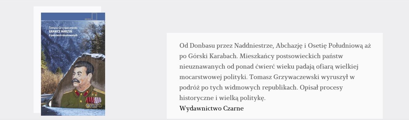Granice marzeń   Tomasz Grzywaczewski