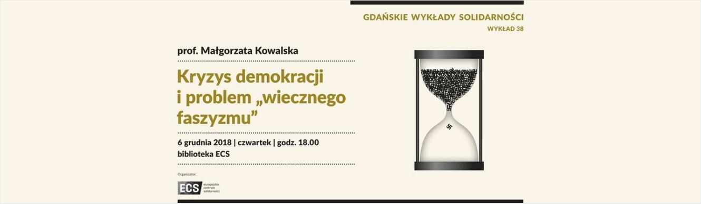 Gdańskie Wykłady Solidarności – Małgorzata Kowalska