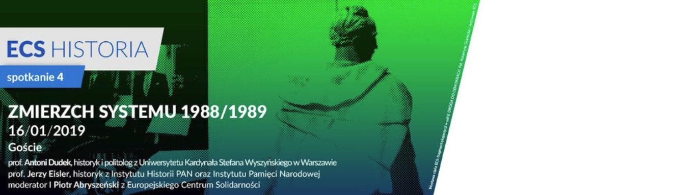ECS Historia. Spotkanie 4 | Zmierzch systemu 1988/1989